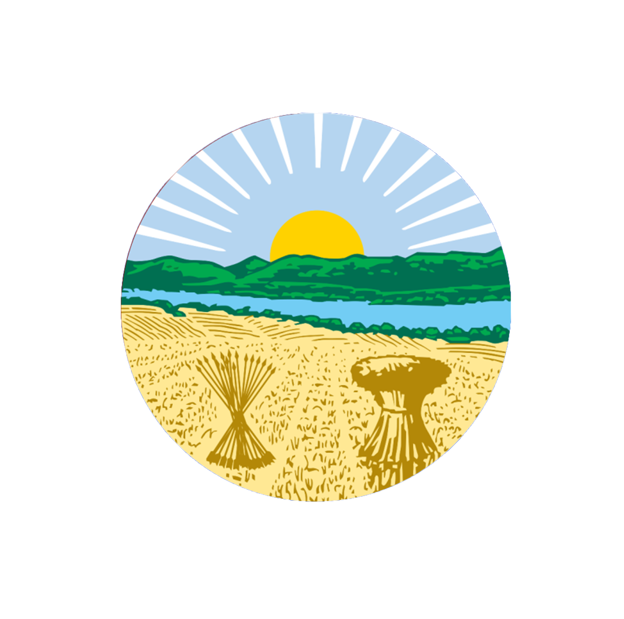 County Auditor Seal white